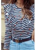 MILLA stripes sweatshirt