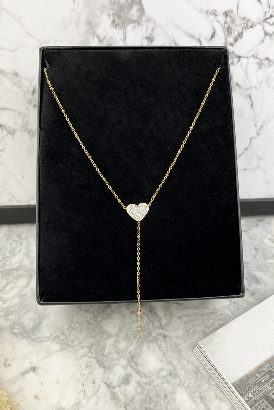 Heart necklace 316L stainless steel