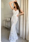 LISA biała suknia wieczorowa