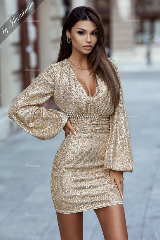 FRANCES gold sequin by Illuminate
