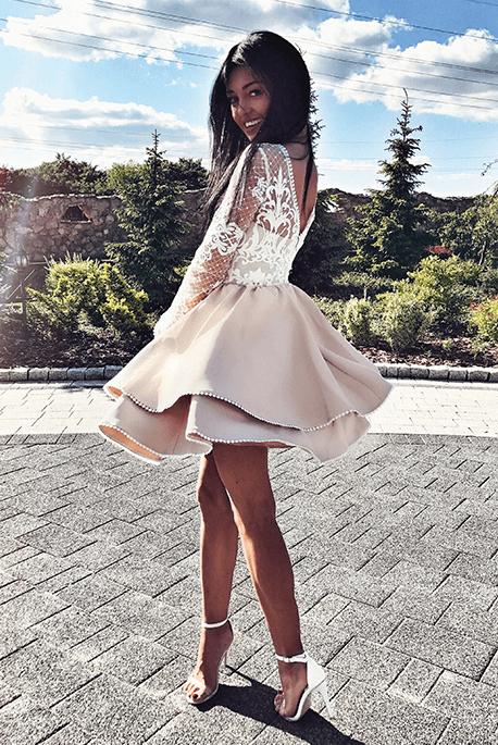 Amelia rozkloszowana sukienka na wesele