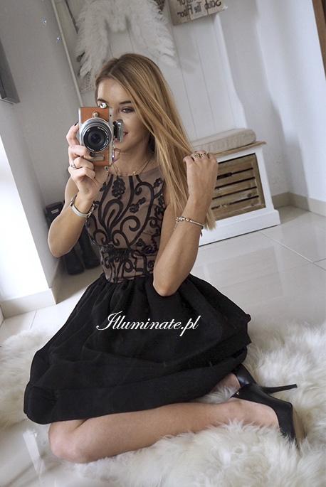 Charis czarna sukienka