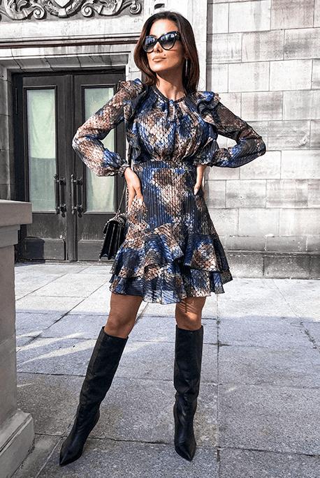 Elif casualowa elegancka sukienka
