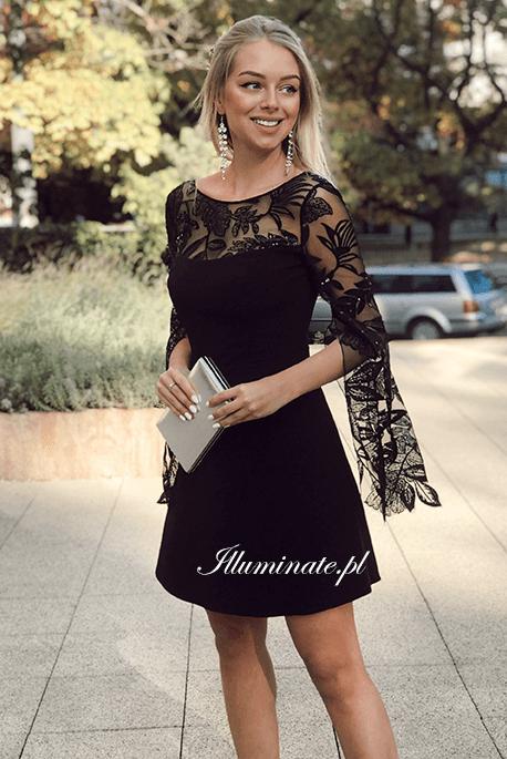 Emily czarna sukienka
