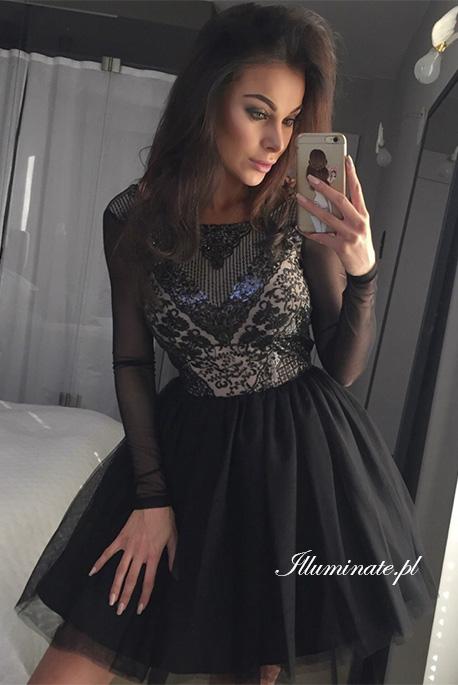 Gabrielle tiulowa sukienka