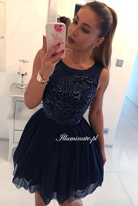 Grace tiulowa sukienka