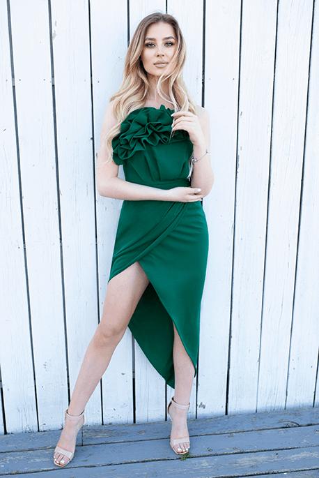 Heather butelkowa zieleń
