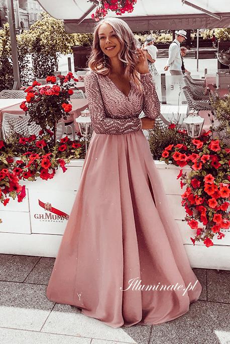 Nicole długa sukienka