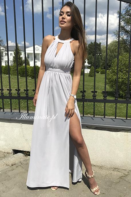 Shiny sukienka szara