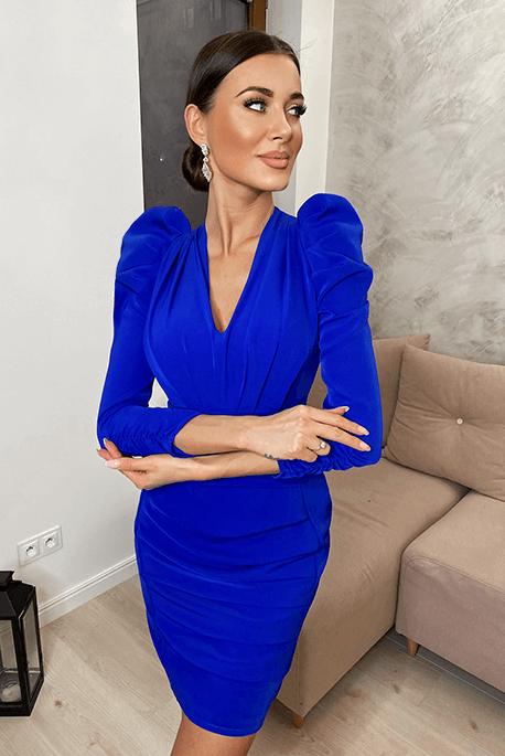 Classic blue sukienka wieczorowa, na wesele