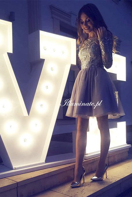 Sophia tiulowa sukienka