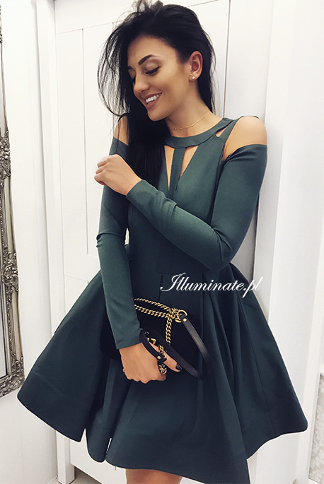 Zaira zielona sukienka